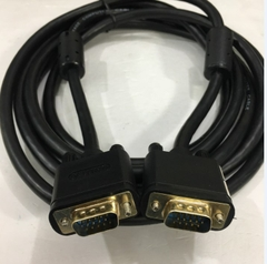 Cáp VGA 3+6 UNITEK Y-C504G Cable HD15 Male to Male VGA For Projection TV Computer Monitor Black Length 3M