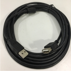 Cáp Nối Dài USB 2.0 A Male to A Female Extension Cable Black 17ft 5M