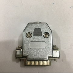 Bộ Rắc Hàn Cổng DB15 Male Connector Kit Solder Type Metalized Plastic Hood