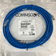 Dây Nhẩy RJ45 Patch Cord OEM COMMSCOPE CAT 6 U/UTP NPC06UVDB-BL033F Straight Through Cable 4PR 24AWG Blue Length 10M