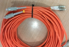 Dây Nhẩy Quang LC to SC Duplex 40M Multimode Fiber Optic Patch Cable OS2 50/125 3.0mm PVC Length 40M