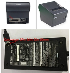 Adapter 24V 2A 48W Original EPSON PS-180 M59A For Máy In Hóa Đơn Epson TM-U925 Connector 3Pin Mini Din 10mm