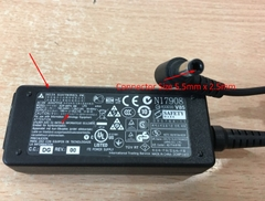 Adapter 19V 2.1A 40W Delta Electronics ADP-40PH For Monitor HP 23ES 23-inch LED IPS Connector Size 5.5mm x 2.5mm