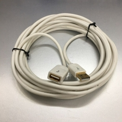 Cáp Nối Dài USB 2.0 A Male to A Female Extension Cable E301195 White 17ft 5M