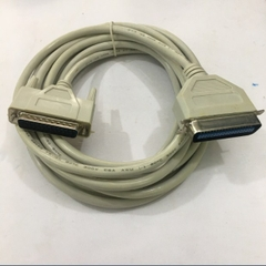 Cáp Kết Nối Máy In Cổng LPT IEEE1284 Parallel IEEE1284 DB25 to DB36 Computer Printer Cable PVC Grey Length 5M