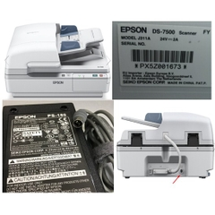 Adapter 24V 3A EPSON For Máy Scan Epson Workforce DS-6500 DS-7500 Connector Size 6.0mm x 4.0mm