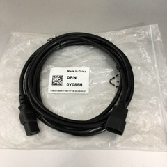 Dây Nguồn Máy Chủ Dell 0Y086H PowerEdge Computer Server Cable Power Cord IEC C13 to C14  Longwell LS-60 LS14 10A 250V 18AWG 3x1.0mm² For Rack Mount PDU UPS Length 2.7M