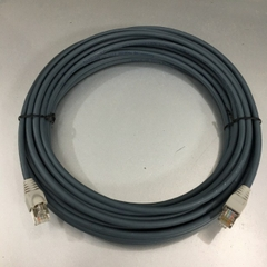 Cáp Mạng Ethernet Công Nghiệp NC-CAB-DMC100 10M Nexans LANmark-Cat6A Ultim Patch Cord 10G RJ45 8P8C Plug up to 500MHz FTP Screened LSZH Grey For Remote I/O Connection PLC HMI Robots Servos