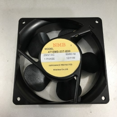 Quạt Làm Mát Thoát Khí NMB 4715MS-23T-B30 IMPEDANCE PROTECTED FAN 119x119x38mm 1 PHASE 230VAC 12/11W 2400/2600RPM Speed Rating