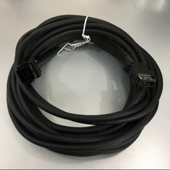 Cáp Mitsubishi MR-J3ENCBL10M-A1-H Cable 1394 SM 10 Pin To VW3M8D1A 9 Pin For Mitsubishi Servo Drive MR-J3 HF-KP HF-MP Length 7.8M