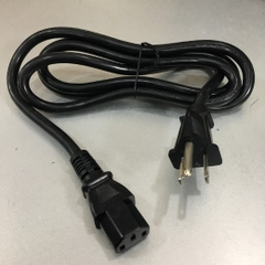 Dây Nguồn Cisco CAB-JPN-3PIN AC Power Cord Janpan JIS C 8303 to IEC 320 C13 13A 125V 16AWG 3x1.31mm² Chính Hãng I-SHENG SP-301 IS-14 Length 1.5M