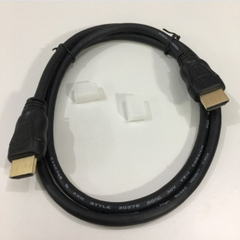 Cáp HDMI Original E346348 AWM Style 20276 80°C 30V VW-1 XINBAIXIN High Speed HDMI to HDMI 4k x 2k HD TV Cable Length 1M
