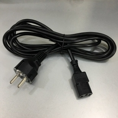 Dây Nguồn KING-CORD 740-024798 For Juniper EX3200-24T European Schuko Power Cord CEE 7/7 to IEC320 C13 10A 250V 3x1.0mm² Length 2.5M