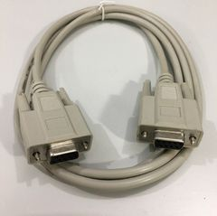 Cáp Kết Nối Agilent RS232-61601 Cross Cable Serial DB9 Female to DB9 Female E300060 AWM Style 2464 VW-1 30V CSA 204790 PVC Grey Length 1.5M