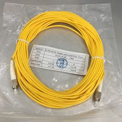 Dây Nhẩy Quang FC to FC 9/125 Singlemode Simplex Fiber Optical Patch Cord 3.0mm PVC Length 15M