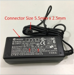 Adapter Original 19V 1.58A 30W HOIOTO For Monitor AOC I2279VW 21.5 inch LED IPS Connector Size 5.5mm x 2.5mm