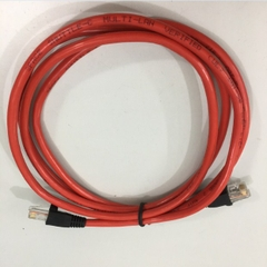Dây Nhẩy 286592-001 HP KVM CONS CBL CAT5e RJ45 UTP PVC RED Ethernet Network Patch Straight Through Cable Length 1.8M
