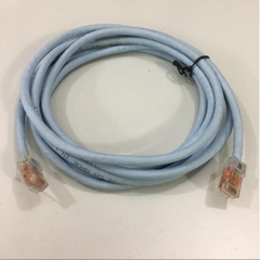 Dây Nhẩy COMMSCOPE SYSTIMAX CPC3312-02F009 Cat6 RJ45 UTP Patch Cord Ethernet Network Straight Through Cable PVC Jacketed Light Blue Length 2.7M