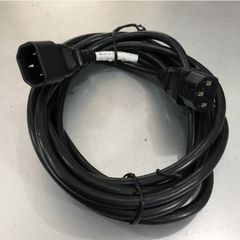 Dây Nguồn LIAN DUNG LT-501 LT-602 AC Power Cord C14 to C13 10A 18AWG 250V 3x0.75mm² For L2 Switch and L3 Switch Network Rack Mount Length 3.7M