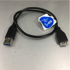 Cáp Kết Nối USB 3.0 Data Cable 4064-705107-000 USB 3.0 Type A to Type Micro B 40Cm For Ổ Cứng Di Động WD My Passport  Seagate Expansion Drive