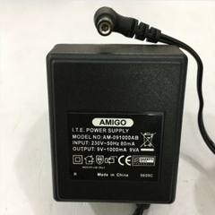 Adapter AC To AC 9V 1000mA AMIGO AM-091000AB ITE Power Supply Connector Size 5.5mm x 2.1mm 90 Degree