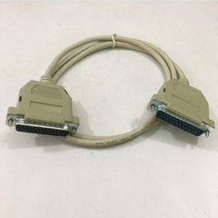 Cáp Kết Nối Cổng LPT Parallel 1284 Dương Dương Song Song Nối Tiếp DB25 Male to DB25 Male Serial Cable Grey For Printer or Data Length 1.1M