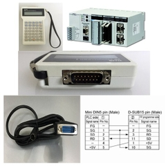 Cáp Kết Nối Điều Khiển PLC Programming Cable AFC8521/AFC8523 Programmer Mini Din 5 Pin Male to DB15 Male 2 Row 15Pin For PLC Panasonic Với Nais AFP-1523 FP Programmer Length 1.8M