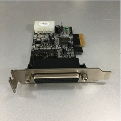 Card PCI Express to 2 Port RS232 Serial Chính Hãng ADVANTECH BB-DSLP-PCIE-100 For Computer Desktop SFF Low Profile PCI Express Board