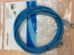 Dây Nhẩy COMMSCOPE AMP Cat6 RJ45 UTP Patch Cord Straight-Through Cable 1-1859247-0 PVC Jacketed Blue Length 3M