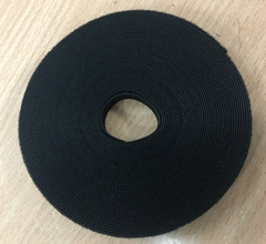 Băng Buộc Móc Vòng Tự Dính Cáp VELCRO BRAND ONE-WRAP TAPE YARD ROLL 12mm x 5m Black For Fiber Optic Network Ethernet Patch Cord Cable Dài 5M