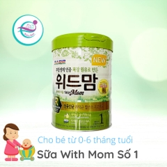 Sữa bột With Mom số 1 (0 - 6 tháng)