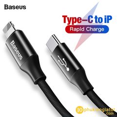 Cáp Baseus Type C cable for Iphone CATSU- S1 (1M, 2A)