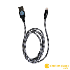 cap-rockspace-day-du-lightning-metal-charge-Sync-round-cable-1M- phu-kien-gia-tot-com