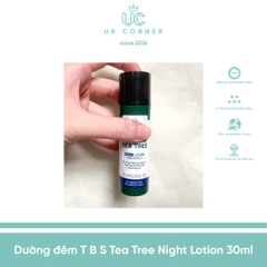 Dưỡng đêm The Body Shop Tea Tree Night Lotion 30mL