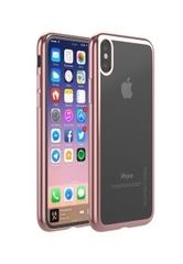 Ốp Lưng Cao Cấp Cho Iphone X Promate HYBRID-X.ROSEGOLD