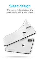 Ốp Lưng Cao Cấp Cho Iphone X Promate LUCENT-X.CLEAR