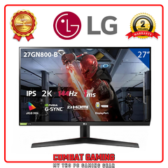 Màn hình LG 27GN800-B UltraGear IPS/QHD/144Hz/1ms /AMD FreeSync
