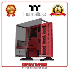 Case THERMALTAKE CORE P3 Tempered Glass (RED)