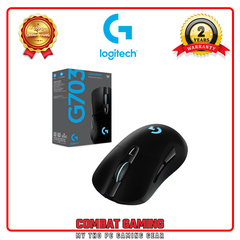 Chuột LOGITECH G703 HERO LIGHTSPEED WIRELESS GAMING