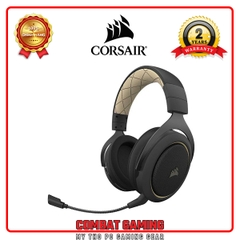 Tai Nghe CORSAIR HS70 PRO WIRELESS (Carbon - Cream)