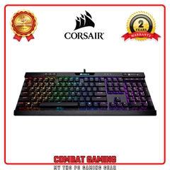 Bàn Phím CORSAIR K70 MK.2 BLK RGB (MX Low Profile Red - Speed)