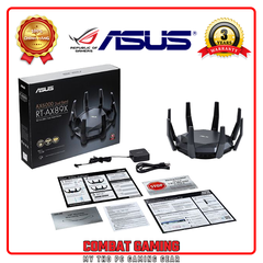 ROUTER WIFI GAMING ASUS RT-AX89X