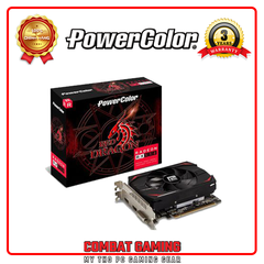 VGA POWERCOLOR RADEON RX550 2GB GDDR5 RED DRAGON