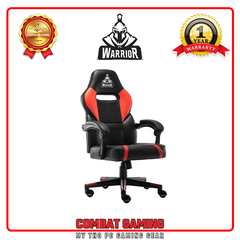 Ghế Gaming WARRIOR – CRUSADER SERRIES - WGC101 (Black/Red)