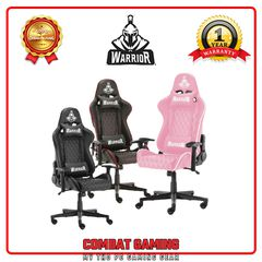 Ghế Gaming WARRIOR RAIDER WGC205 (Black - Black Red - Pink)