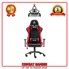 Ghế Gaming WARRIOR – CRUSADER SERRIES - WGC206 (Black/Red)