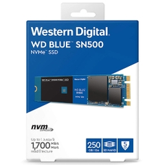 Ổ cứng WD Blue SN500 NVMe SSD 250GB M.2