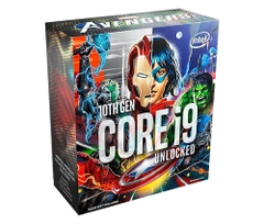 CPU Intel Core i9-10900K Avengers Edition (3.7GHz turbo up to 5.3GHz, 10 nhân 20 luồng, 20MB Cache, 125W) - Socket Intel LGA 1200