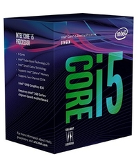 CPU Intel Core i5 9600 3.1 GHz turbo up to 4.5 GHz /6 Cores 6 Threads/ 9MB /Socket 1151/Coffee Lake