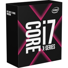 CPU Intel Core i7-9800X 3.8 GHz Turbo 4.4 GHz up to 4.5 GHz / 16.5 MB / 8 Cores, 16 Threads / socket 2066 (No Fan)